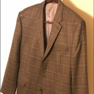 Other - Mens Brown wool sport coat